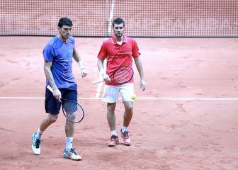Franko Škugor i Nikola Mektić (Foto: Sanjin Strukic/PIXSELL)