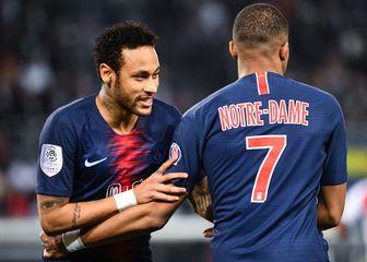Neymar i Kylian Mbappe (Foto: AFP)