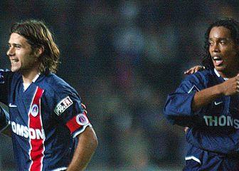 Mauricio Pochettino i Ronaldinho (Foto: AFP)