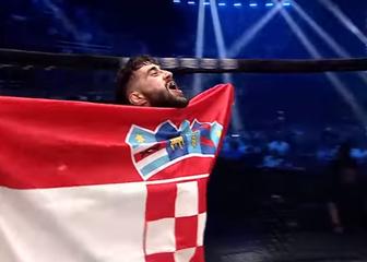 Filip Pejić slavi pobjedu (Screenshot)