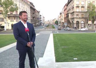 Matija Mandić, direktor marketinga i prodaje Lesnine, i Srna Bijuk