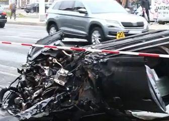 Auto nakon prometne nesreće u Dubravi - 2