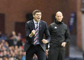 Steven Gerrard, trener Rangersa (Foto: Jeff Holmes/Press Association/PIXSELL)