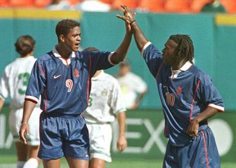 Patrick Kluivert i Clarence Seedorf (Foto: AFP)