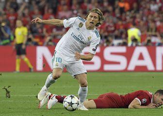 Luka Modrić u finalu Lige prvaka (Foto: AFP)
