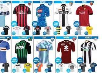 Dresovi Serie A 2018/2019 (Tuttosport)