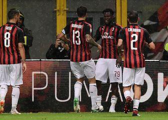 Slavlje Milana (Foto: AFP)