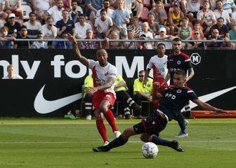 Detalj s utakmice Zrinjski - Utrecht (Foto: AFP)