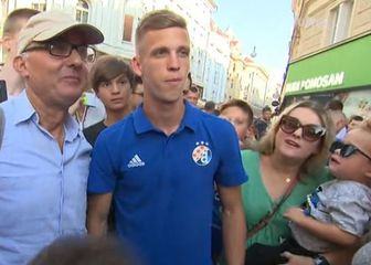 Dani Olmo s navijačima