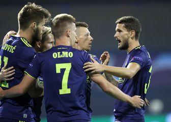 Dinamo slavi pogodak (Foto: Josip Regovic/PIXSELL)