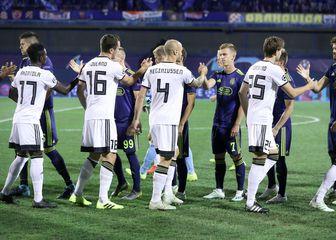 Igrači Rosenborga (Foto: Sanjin Strukić/PIXSELL)
