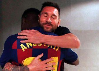 Messi i Ansu Fati (Foto: Instagram)