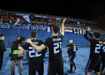 Dinamo slavi pobjedu protiv Benfice (Photo: Marko Lukunic/PIXSELL)