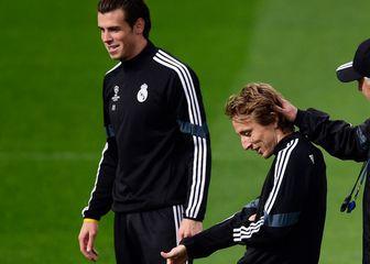 Modrić i Ancelotti
