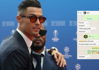 Cristiano Ronaldo i Patrice Evra