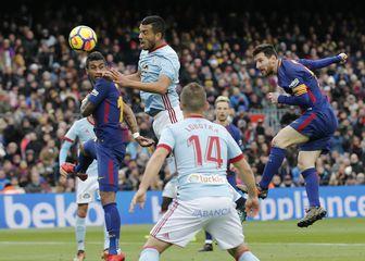 Detalj s utakmice Barcelona - Celta (Foto: AFP)