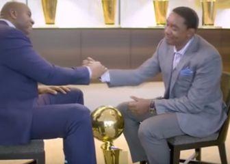 Magic Johnson i Isiah Thomas (Screen shot Youtube.com)