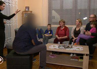 Dirljiv susret dobročinitelja iz Norveške i obitelji Lacković (Foto: dnevnik.hr) - 9