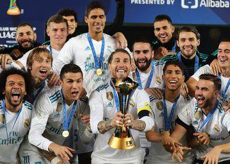 Real slavi naslov prvaka svijeta 2017. (Foto: AFP)
