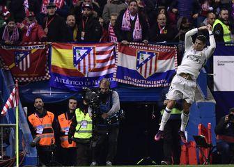 Ronaldo slavi gol Atleticu (Foto: AFP)