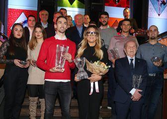 Dobitnici nagrada (Foto: Dalibor Urukalovic/PIXSELL)