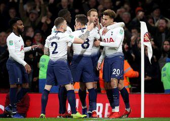 Slavlje Tottenhama (Foto: Nick Potts/Press Association/PIXSELL)