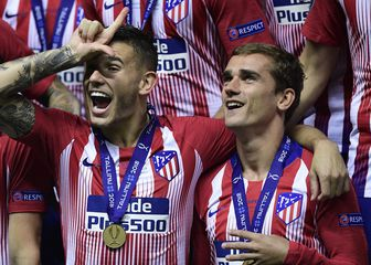 Lucas Hernandez i Antoine Griezmann (Foto: AFP)