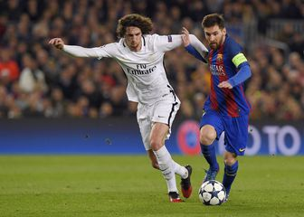 Adrien Rabiot protiv Barcelone (Foto: AFP)