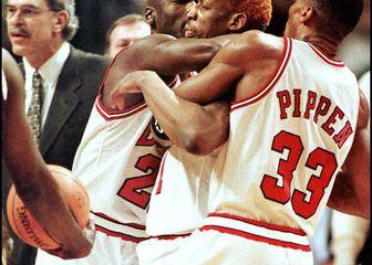 Jordan, Pippen i Rodman (Foto: AFP)