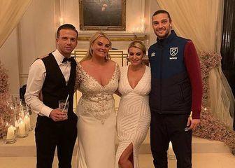 Andy Carroll na svadbi (Foto: Instagram)
