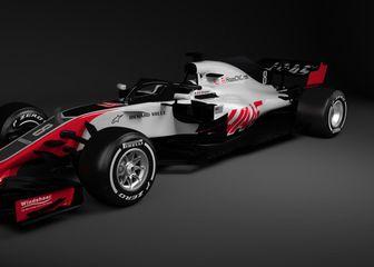 Haasov VF-18 (Foto: Haas F1 Team)