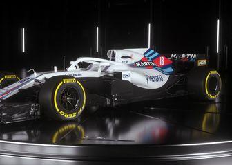 Williamsov bolid za 2018. (Foto: Williams Martini Racing)