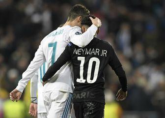 Cristiano Ronaldo i Neymar (Foto: AFP)