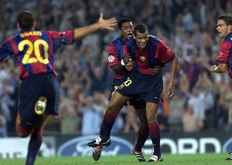 Rivaldo i Patrick Kluivert (Foto: AFP)