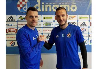Komnen Andrić i Amir Rrahmani (Foto: Instagram/Dinamo)