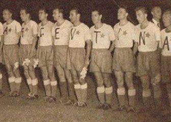 Hajduk na gostovanju kod Boce Juniors 1953. (Foto: Facebook)