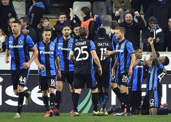 Slavlje nogometaša Club Bruggea (Foto: AFP)