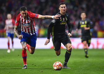 Jose Gimenez i Cristiano Ronaldo (Foto: AFP)