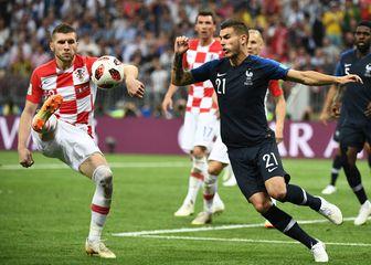 Lucas Hernandez u akciji protiv Hrvatske (Foto: AFP)