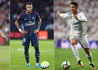 Lionel Messi, Neymar i Cristiano Ronaldo (Foto: AFP)