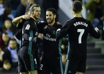 Gareth Bale, Isco i Cristiano Ronaldo (Foto: AFP)