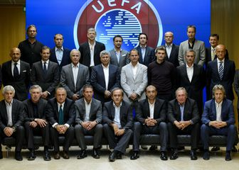 Skup najboljih trenera Europe (Foto: AFP)