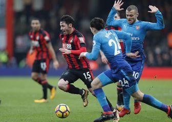 Bournemouth - Arsenal (Foto: AFP)