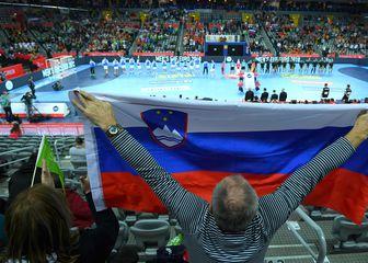 Slovenski navijači u Zagrebu (Foto: Marko Lukunic/PIXSELL)