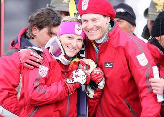 Ivica i Janica Kostelić (Foto: Zeljko Lukunic/PIXSELL)