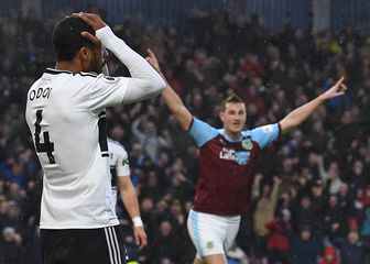 Burnley slavi autogol Fulhama (Foto: AFP)