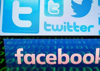 Twitter i Facebook (Foto: AFP)