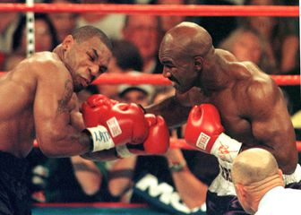 Mike Tyson i Evander Holyfield