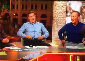 Neville, Bilić i Dixon (Screenshot: Twitter)