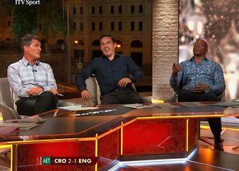 Roy Keane, Gary Neville i Ian Wright (Screenshot YouTube)